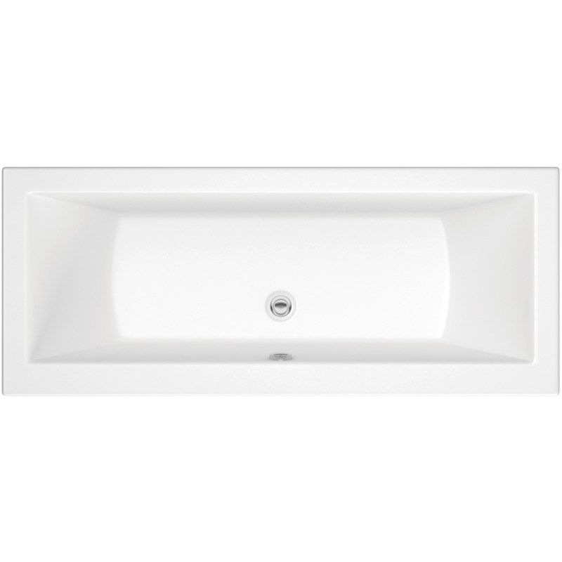 Bathrooms To Love Solarna Double End 1700x700mm Bath, No Taphole
