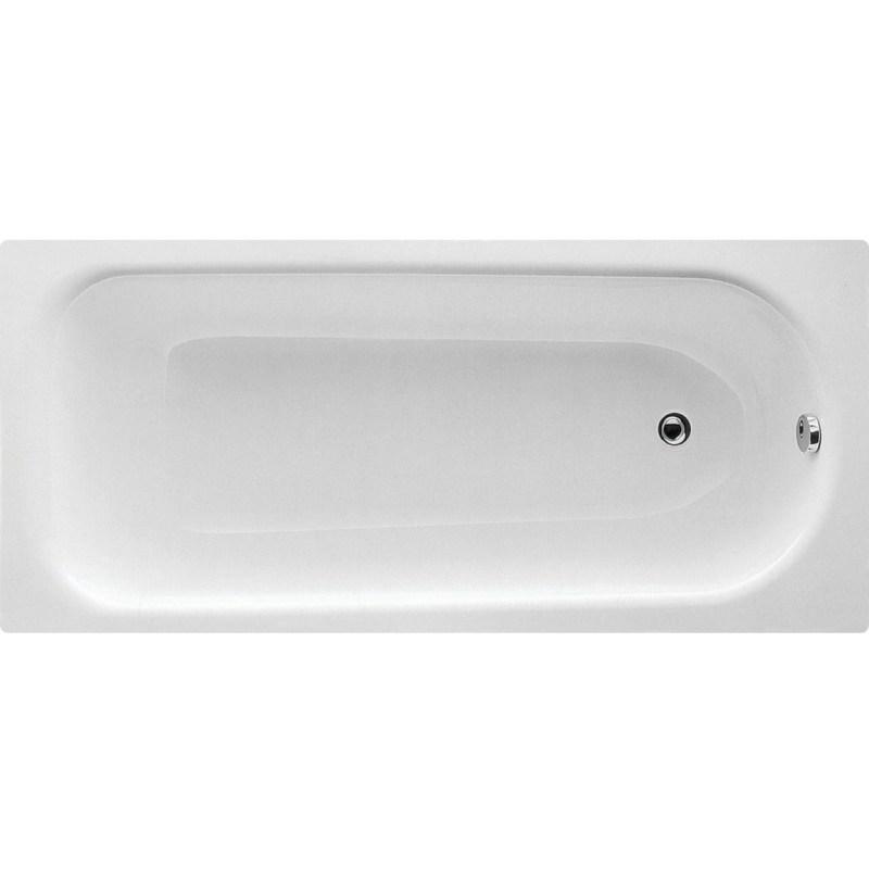 Bathrooms To Love Eurowa Steel 1600x700 2 Hole Bath & Leg Set