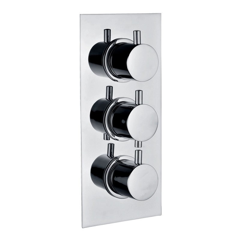 Bathrooms To Love Circa Thermostatic 2 Outlet Triple Shower Valve