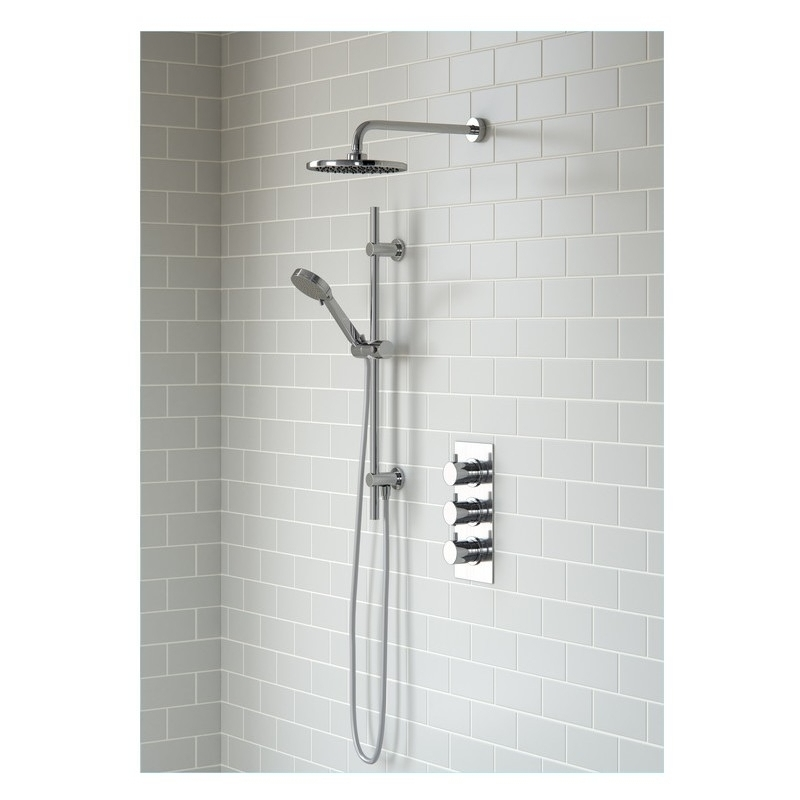 Bathrooms To Love Circa Thermostatic 3 Outlet Triple Shower Valve