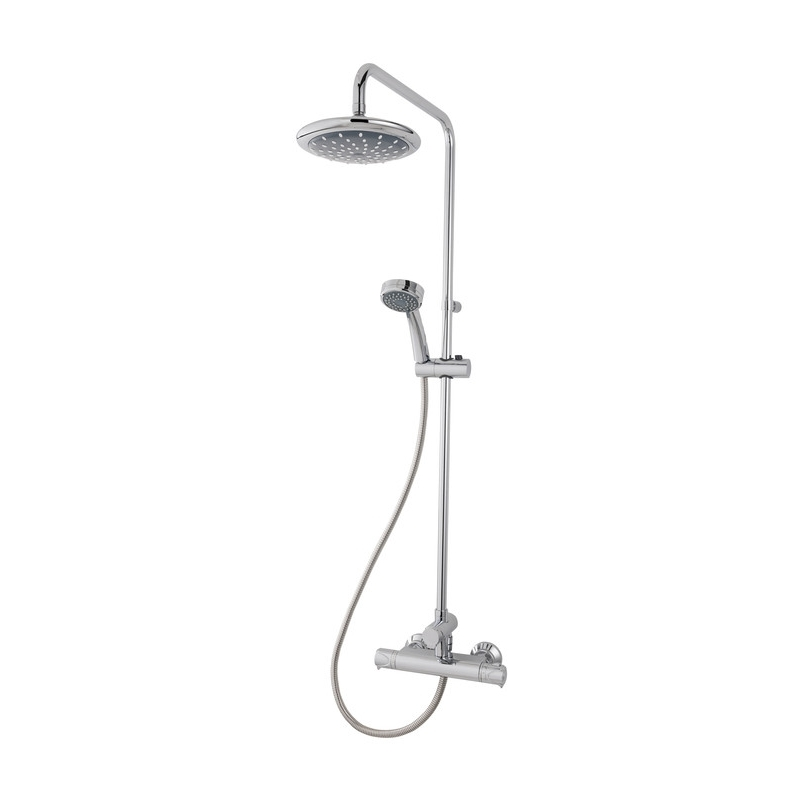 Triton Dene Thermostatic Bar Mixer Shower with Diverter Chrome
