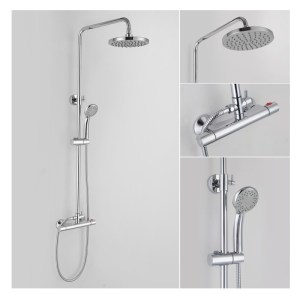 Bathrooms To Love Rondi Thermostatic Bar Mixer Shower Set