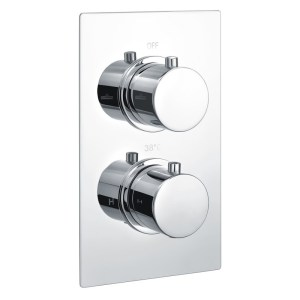Bathrooms To Love Circa Thermostatic 2 Outlet Twin Shower Valve