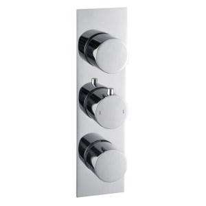 Bathrooms To Love Sphere 3 Outlet Slim Plate Triple Shower Valve