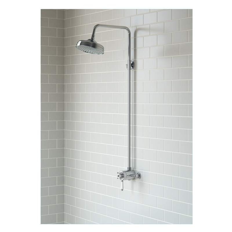 Bathrooms To Love Traditional Concentric Valve & Overhead Shower