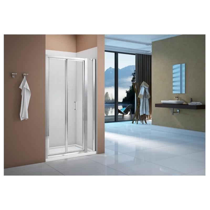 Merlyn Vivid Boost 1000mm Bi-Fold Shower Door