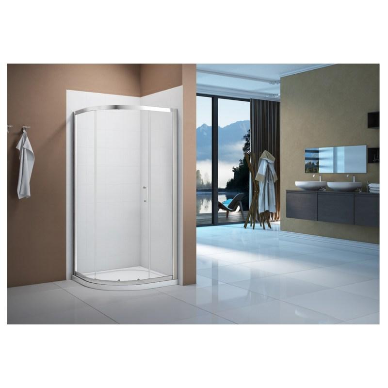 Merlyn Vivid Boost 1200x800mm 1 Door Offset Quadrant Enclosure