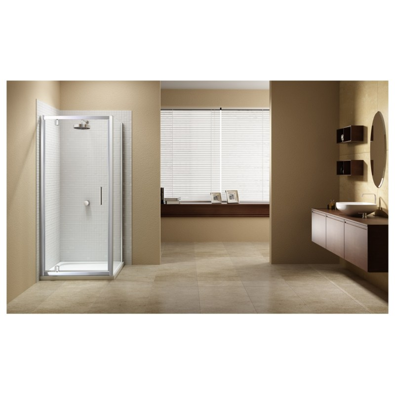 Merlyn Vivid Sublime 760mm Pivot Shower Door
