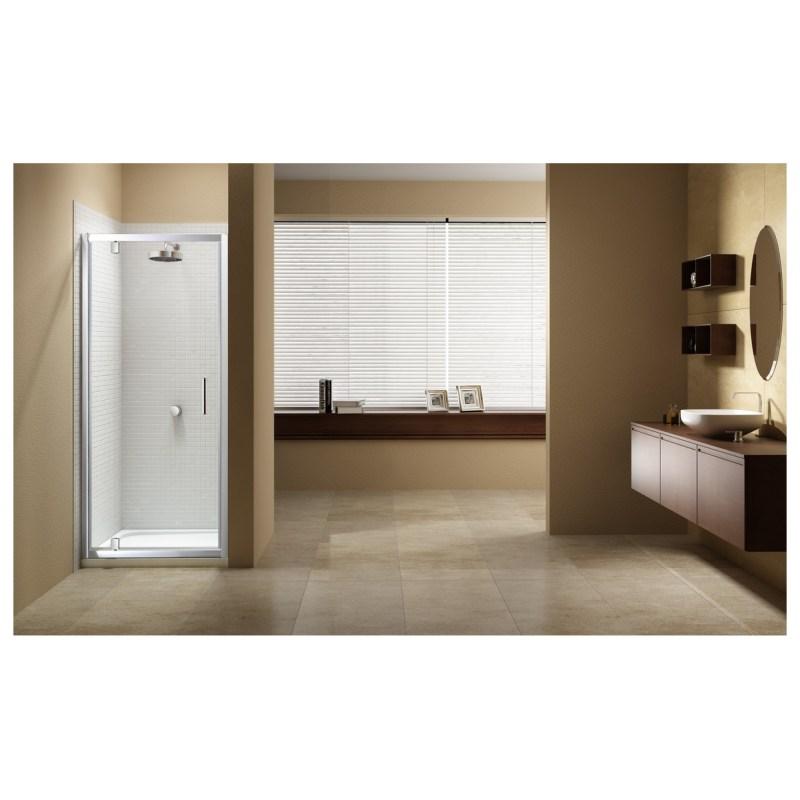 Merlyn Vivid Sublime 900mm Pivot Shower Door