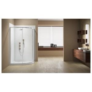 Merlyn Vivid Sublime 1000x800mm 1 Door Offset Quadrant Enclosure