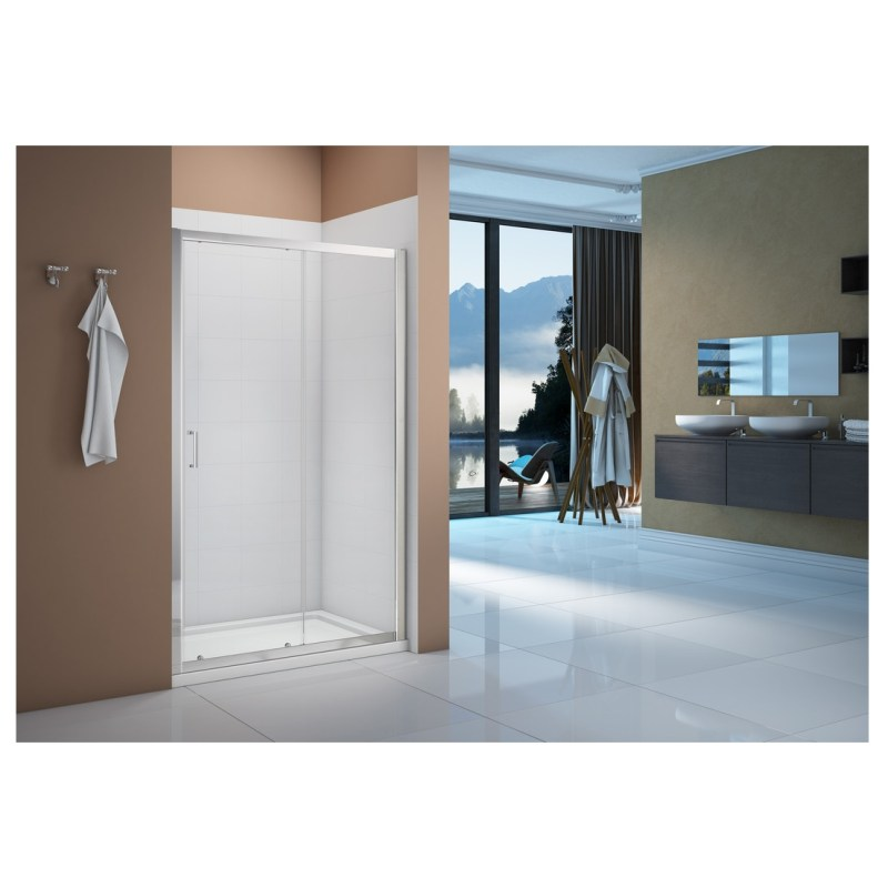 Merlyn Vivid Boost 1100mm Sliding Shower Door