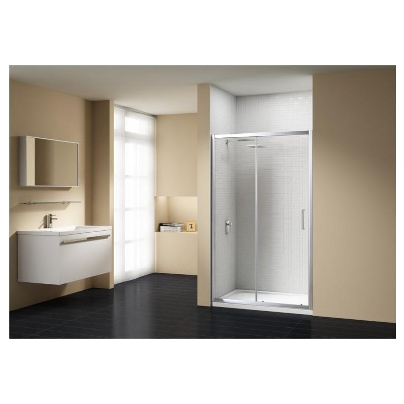 Merlyn Vivid Sublime 1100mm Sliding Shower Door