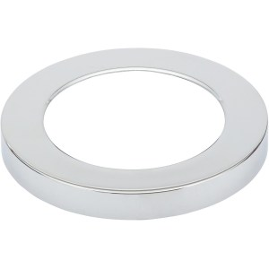 Bathrooms To Love Nuva Small Round Magnetic Light Cover Chrome