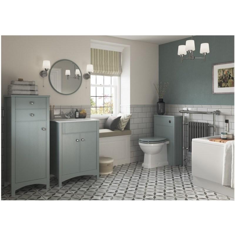 Bathrooms To Love Lucia 510mm WC Unit Sea Green Ash