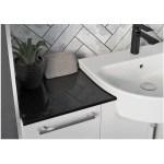 Bathrooms To Love Alba 600mm Slim Vanity Unit White Gloss