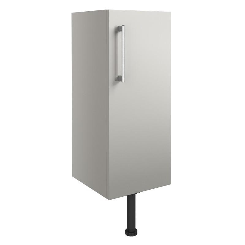 Bathrooms To Love Alba 300mm Base Unit Light Grey Gloss