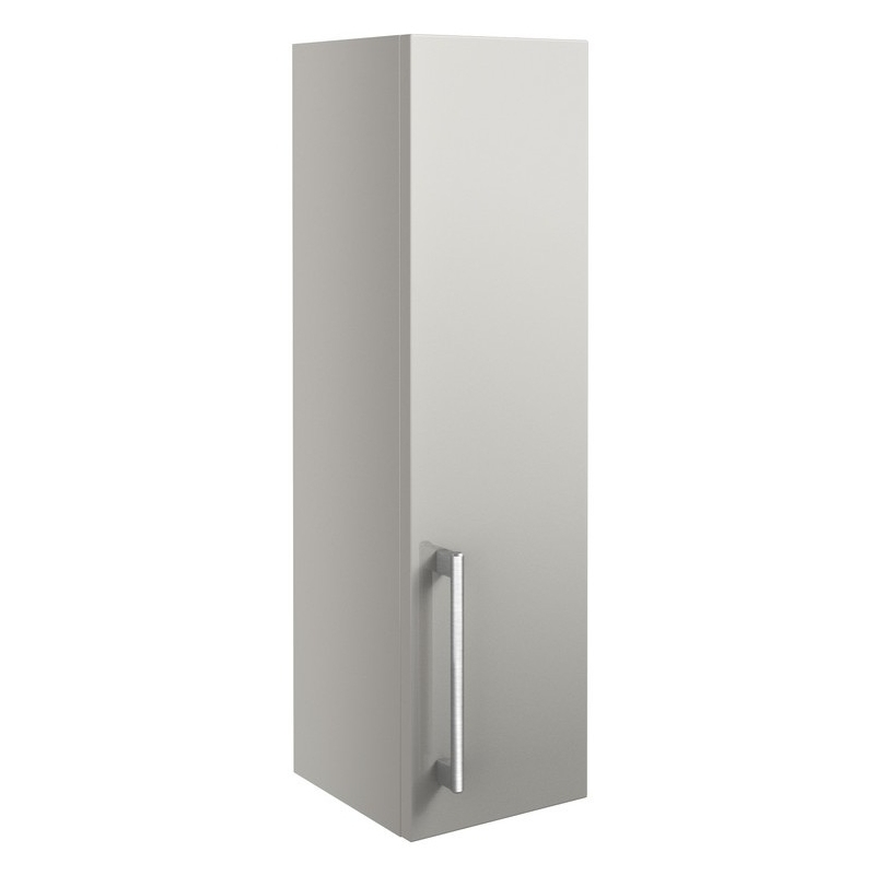 Bathrooms To Love Alba 200mm Wall Unit Light Grey Gloss