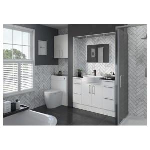 Bathrooms To Love Alba 900x330mm Base End Panel White