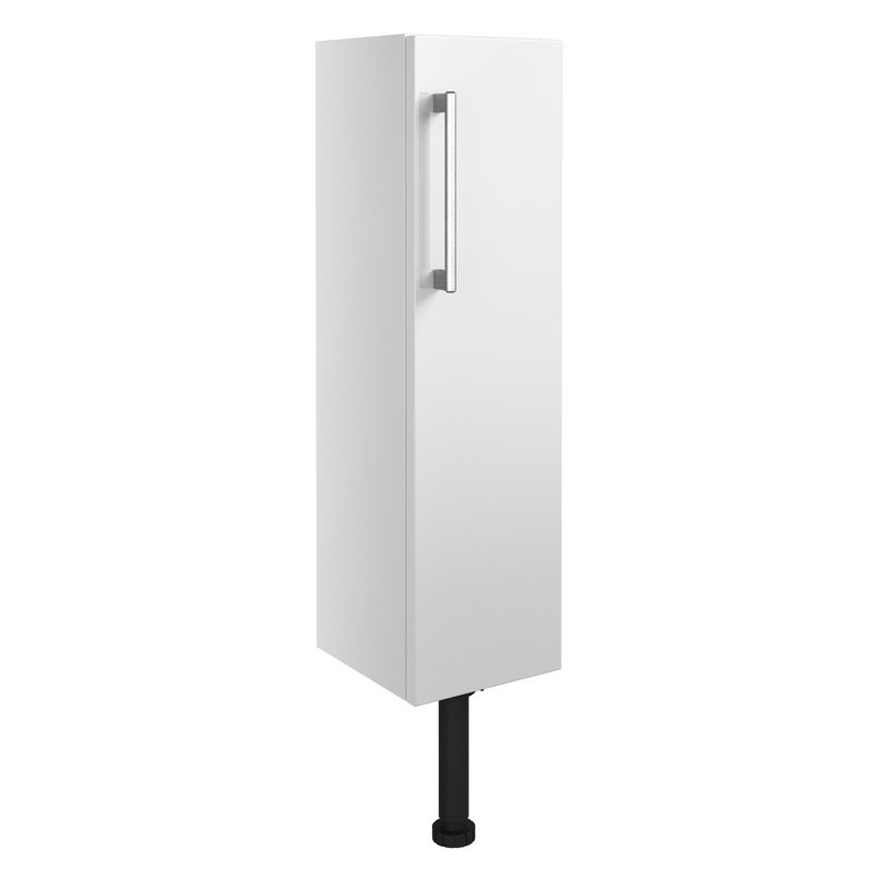 Bathrooms To Love Alba 200mm Slim Base Unit White Gloss