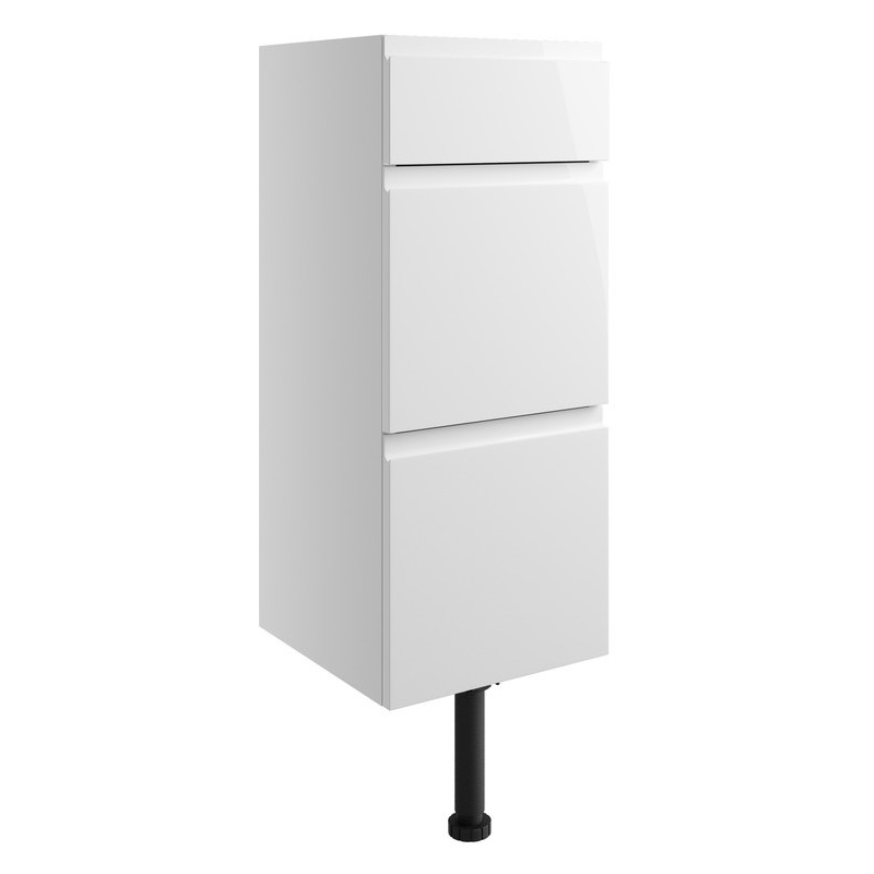 Bathrooms To Love Valesso 300mm Drawer Unit White Gloss