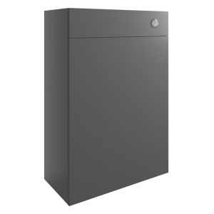 Bathrooms To Love Valesso 600mm WC Unit Onyx Grey Gloss
