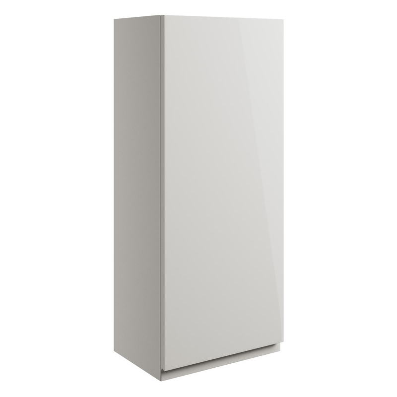 Bathrooms To Love Valesso 300mm Wall Unit Pearl Grey Gloss