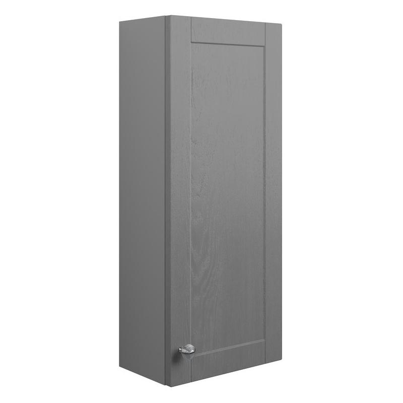 Bathrooms To Love Benita 300mm 1 Door Wall Unit Grey Ash