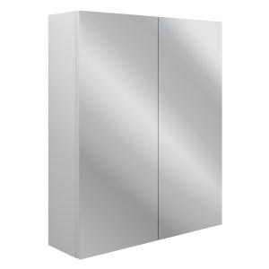 Bathrooms To Love Benita 600mm 2 Door Wall Unit Satin White Ash