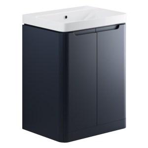 Bathrooms To Love Lambra 600mm Floor Unit & Basin Matt Indigo