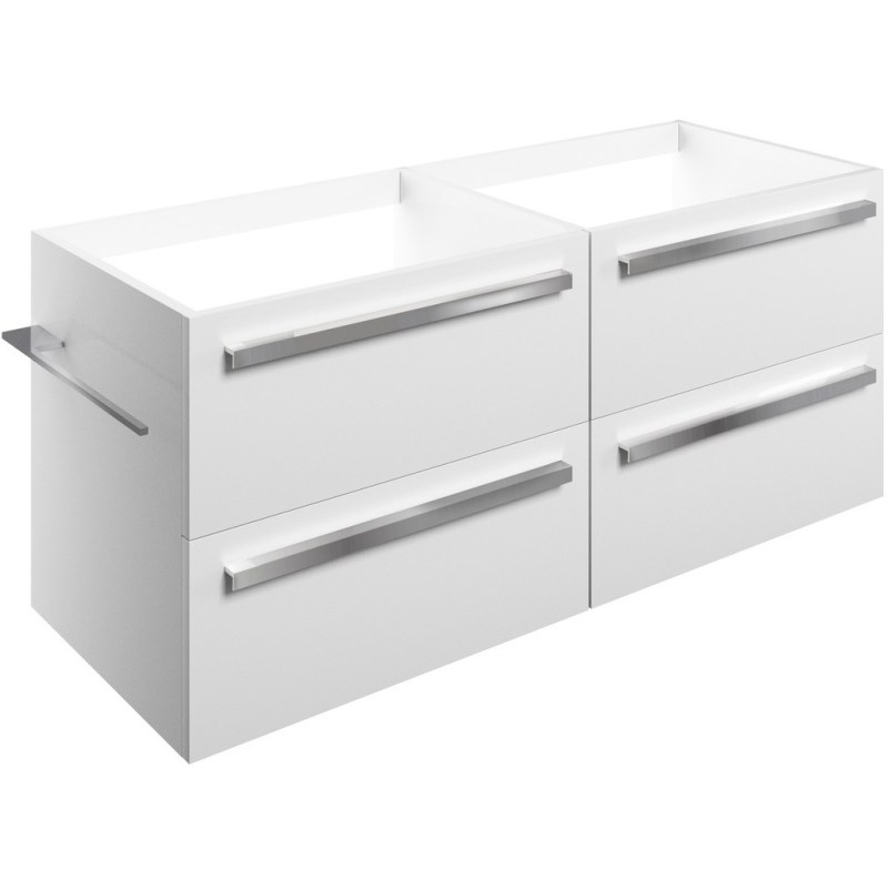 Bathrooms To Love Morina 1200mm Wall Vanity Unit Run White Gloss
