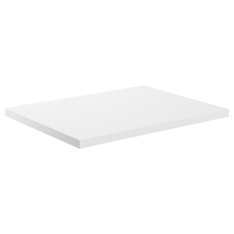 Bathrooms To Love Morina 600mm Laminate Worktop White Gloss