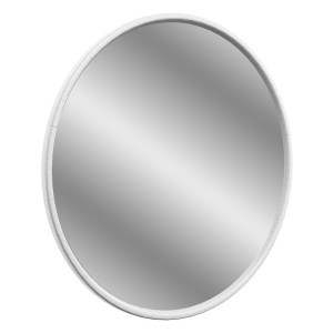 Bathrooms To Love Lucia 550mm Round Mirror Satin White Ash