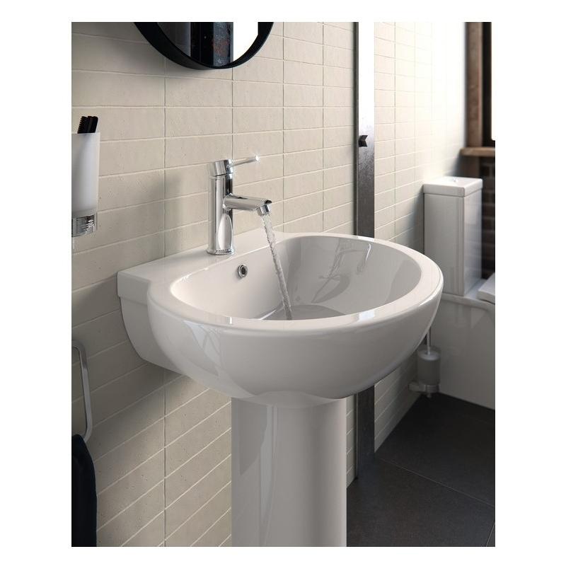 Bathrooms To Love Mimosa 540mm Semi Recessed Basin