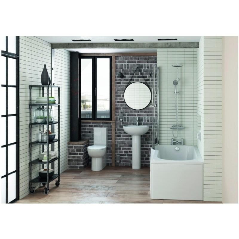 Bathrooms To Love Mimosa 535mm Basin & Semi Pedestal