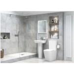 Bathrooms To Love Tilia 600mm Basin & Full Pedestal