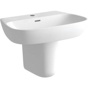 Bathrooms To Love Tilia 600mm Basin & Semi Pedestal