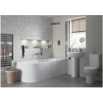 Bathrooms To Love Tuscany 450x400mm Basin & Full Pedestal