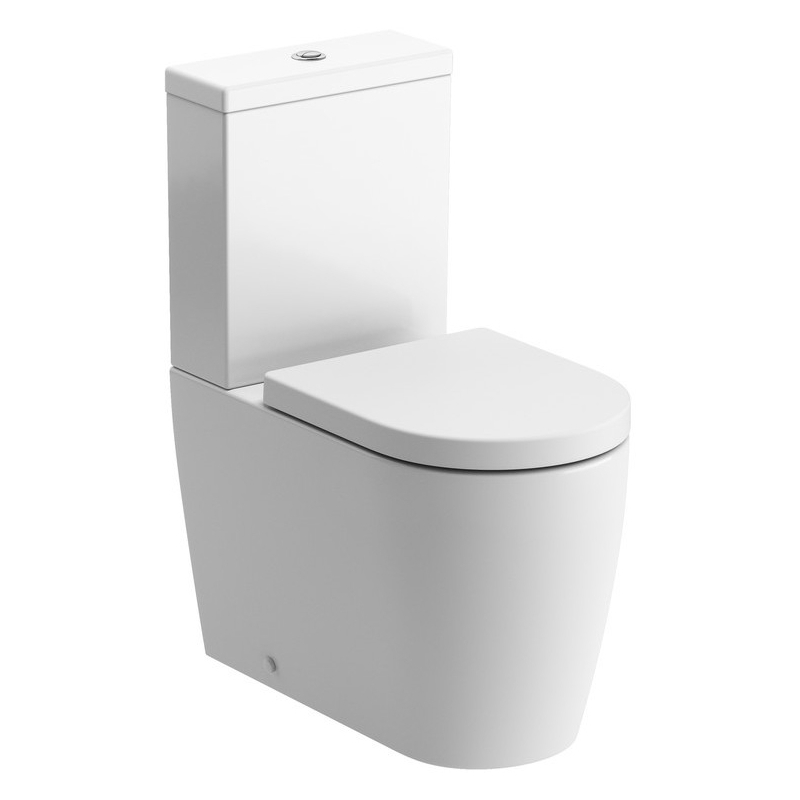 Bathrooms To Love Cilantro Close Coupled WC & Soft Close Seat Pack