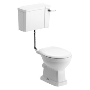 Bathrooms To Love Sherbourne Low Level WC & Soft Close Seat Pack