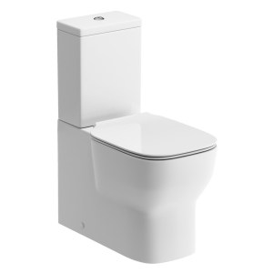 Bathrooms To Love Senna Fully Shrouded WC & Soft Close Seat