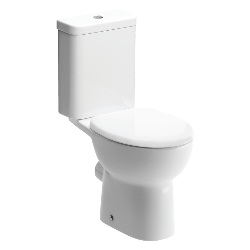 Bathrooms To Love Tuscany Open Back WC & Soft Close Seat Pack