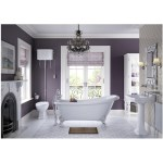 Bathrooms To Love Sherbourne High Level WC Pack, Grey Seat