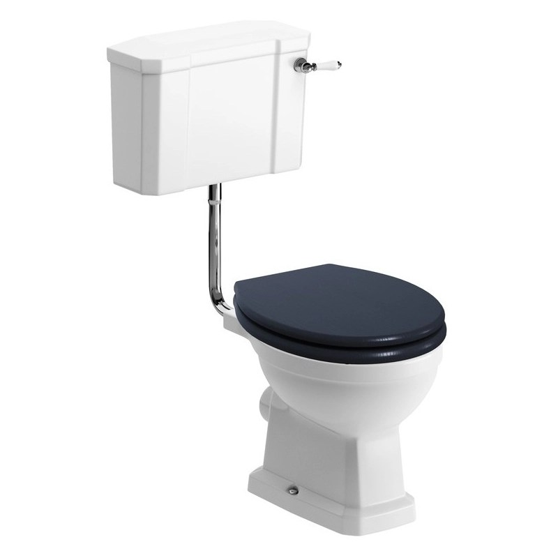 Bathrooms To Love Sherbourne Low Level WC Pack, Indigo Seat