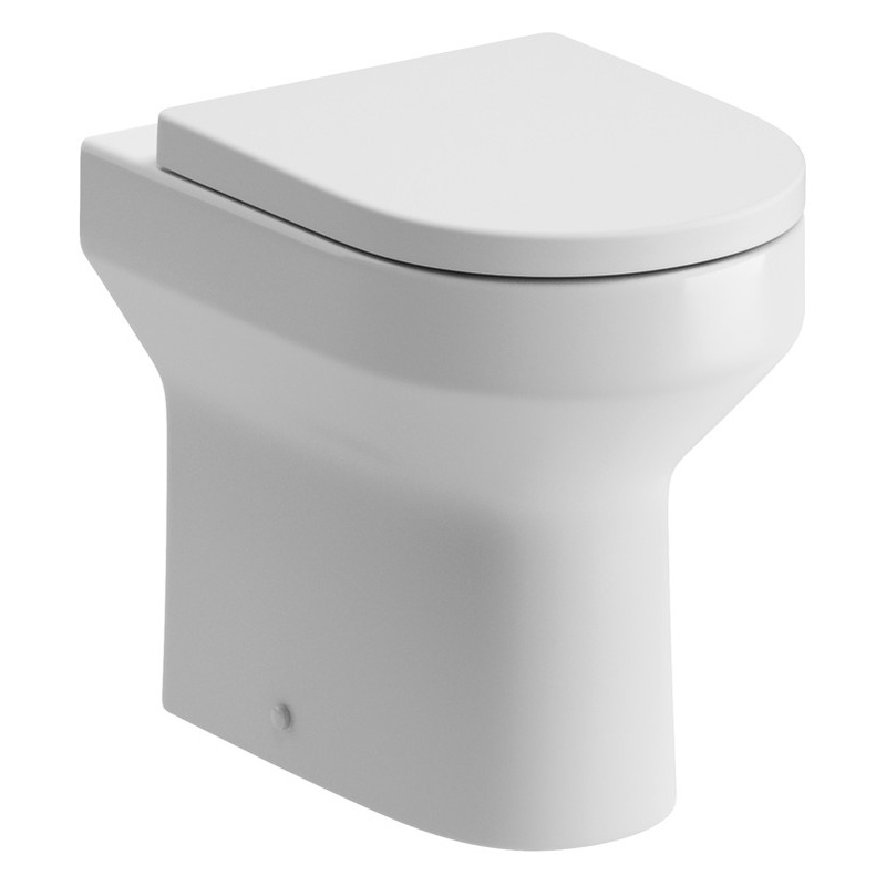 Bathrooms To Love Laurus2 Back To Wall Comfort Height Toilet & Seat