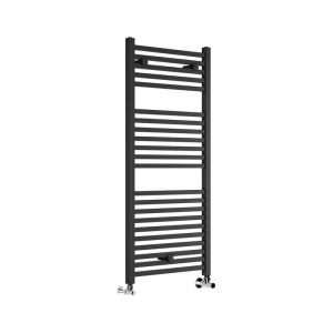 Bathrooms To Love Qubos Ladder Radiator 500x1110mm Anthracite