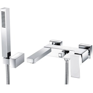 Bathrooms To Love Quadro Wall Mounted Shower Mixer & Shower Kit
