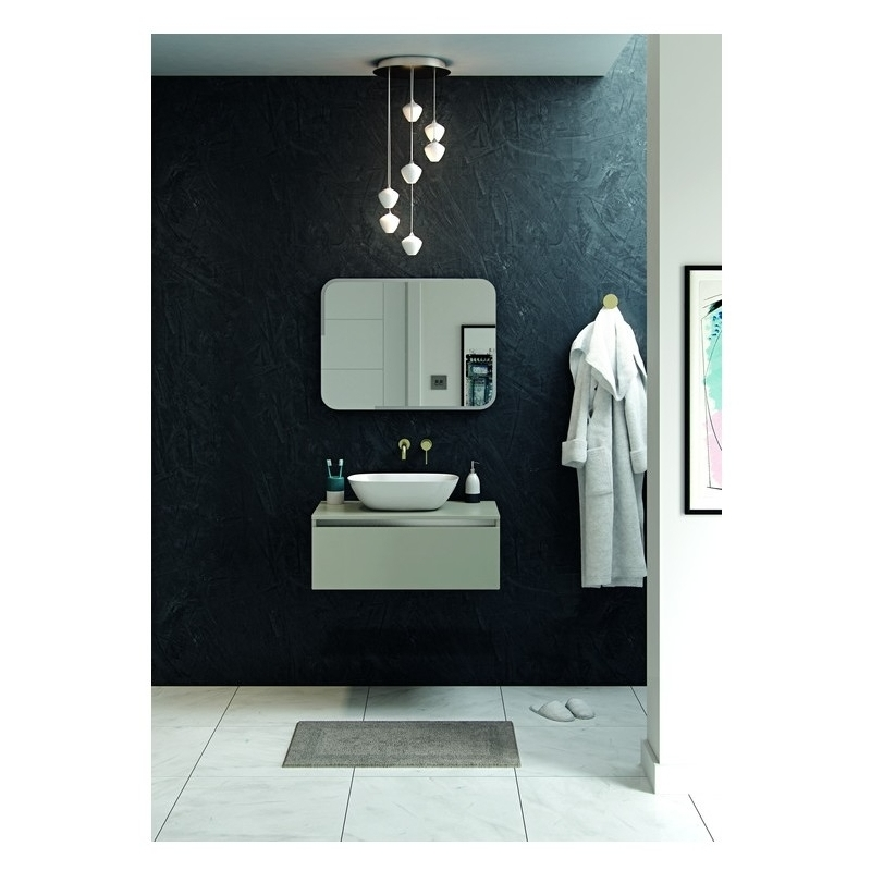 Bathrooms To Love Pesca Wall Mounted Basin Tap Brushed Brass