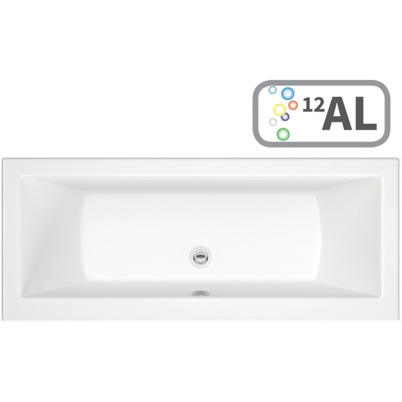 Bathrooms To Love Solarna Double End 1700x750 Bath, Airspa & LED