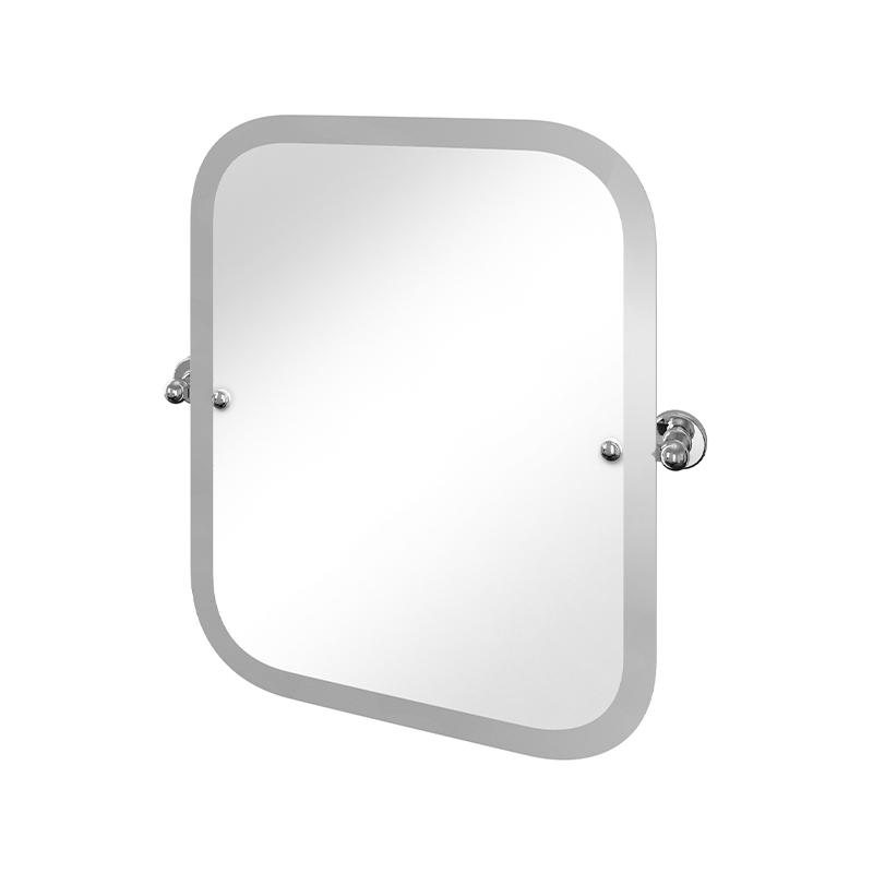 Burlington Arcade Rectangular Swivel Mirror Chrome