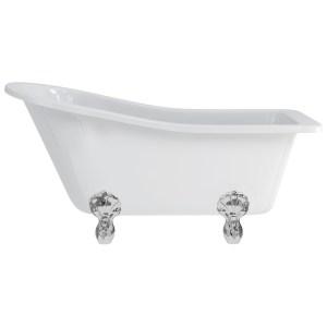Burlington Buckingham Slipper Bath with Luxury Feet